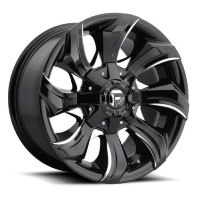 FUEL D571 Gloss Black Machine wheel (20X9, 6x135, 106.3, 1 offset)