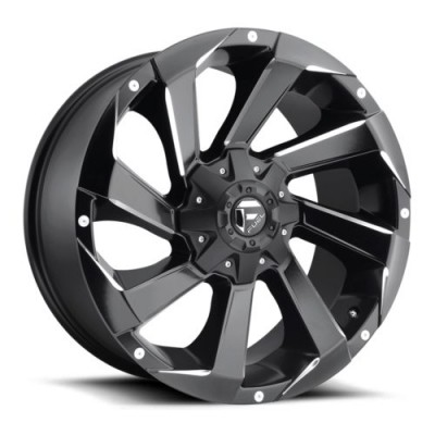 FUEL D592 Matt Black Machine wheel (18X9, 6x135, 106.4, 20 offset)