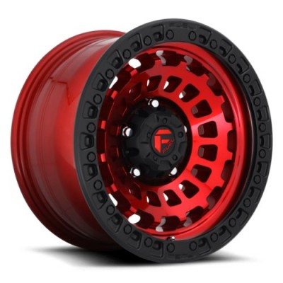 FUEL D632 Black Red wheel (18X9, 8x170, 125.1, -12 offset)