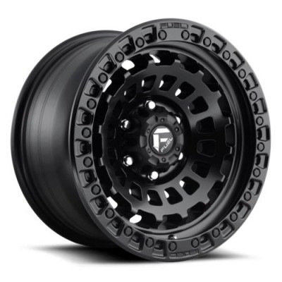 FUEL D633 Matte Black wheel (18X9, 8x180, 124.3, 1 offset)