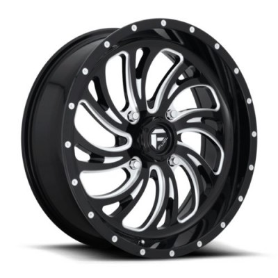 FUEL D641 Gloss Black Machine wheel (22X7, 4x156, 132, 13 offset)