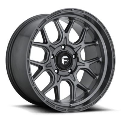 FUEL D672 Matte Gun Metal wheel (17X9, 6x139.7, 106.1, 20 offset)