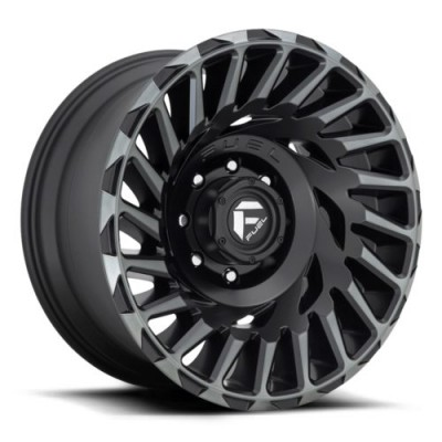 FUEL D683 Matt Black Machine wheel (18X9, 5x150, 110.2, 1 offset)