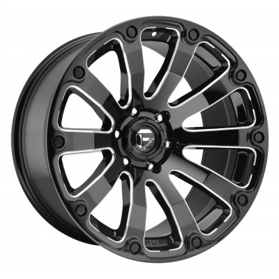 FUEL Diesel D598 Machine Black wheel (20X10, 5x127, 78.1, -18 offset)