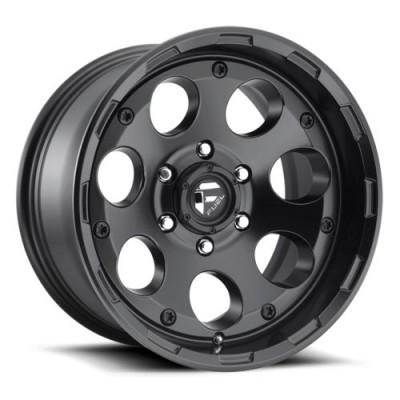 FUEL Enduro D608 Matt Black Machine wheel (17X9, 5x127, 78.1, -12 offset)