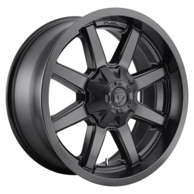 FUEL FC436 Satin Black wheel (18.00X9.00, 6x135.00/139.70, 106.1, -13 offset)