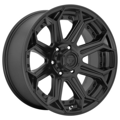 FUEL FC706 Matte Black wheel (18.00X9.00, 6x139.70, 106.1, 1 offset)
