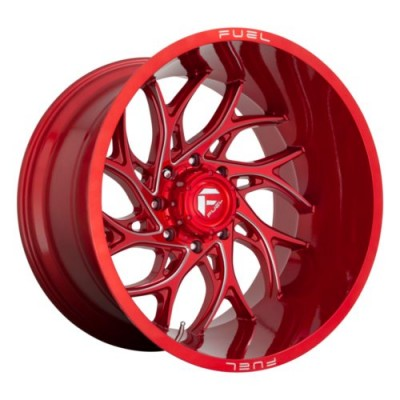 FUEL FC742 Red wheel (20.00X9.00, 5x127.00, 71.5, 1 offset)