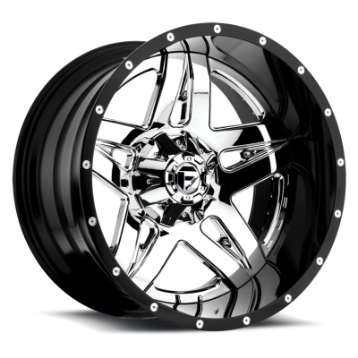 FUEL Full Blown D253 Chrome wheel (20X10, 5x127/135, 87.1, -19 offset)