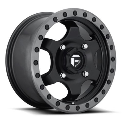 FUEL Gatling D639 Matte Black wheel (15X7, 4x136, 110.2, 55 offset)