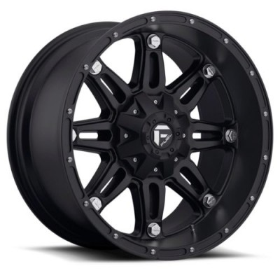 FUEL Hostage D531 Matte Black wheel (17X8.5, 6x114.3/139.7, 78.1, 25 offset)