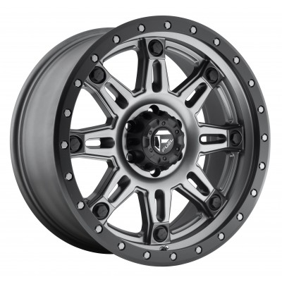 FUEL Hostage III D568 Matte Gun Metal wheel (17X9, 8x165.1, 125.2, 20 offset)