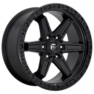 FUEL KICKER Matte Black wheel (17.00X9.00, 6x139.70, 106.1, 1 offset)
