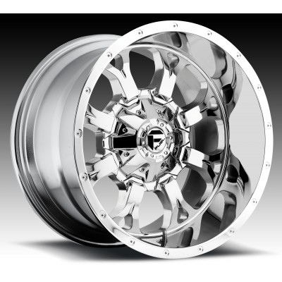 FUEL Krank D516 Chrome wheel (17X9, 6x135/139.7, 106.4, -12 offset)