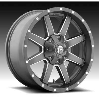 FUEL Maverick D542 Matte Gun Metal wheel (20X9, 5x139.7/150, 110.3, 1 offset)