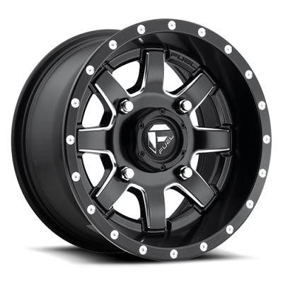 FUEL Maverick UTV D538 Machine Black wheel | 14X7, 4x156, 132, 13 offset