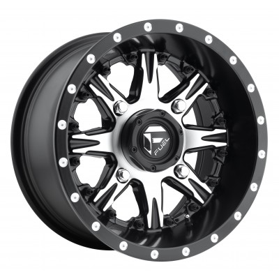 FUEL Nutz UTV D541 Machine Black wheel (14X7, 4x110, 79.3, 13 offset)