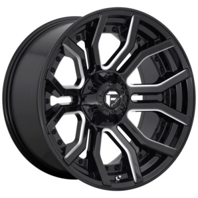 FUEL RAGE Gloss Black Diamond Cut wheel (22.00X10.00, 6x135.00/139.70, 106.1, -18 offset)