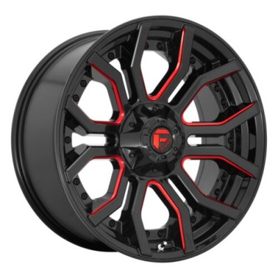 FUEL RAGE Gloss Black wheel (22.00X10.00, 8x180.00, 124.3, -18 offset)