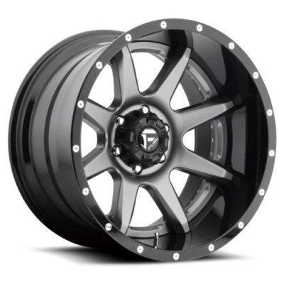 FUEL Rampage D238 Matte Gun Metal wheel (20X10, 8x170, 125.2, -19 offset)