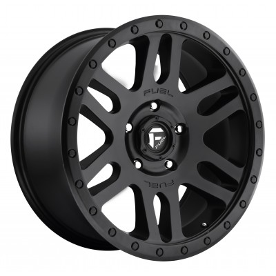 FUEL Recoil D584 Matte Black wheel (17X8.5, 5x150, 110.3, 7 offset)