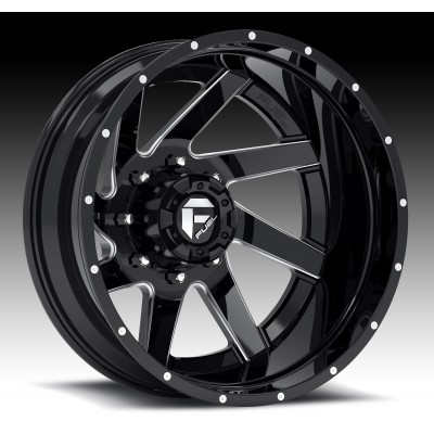 FUEL Renegade D265 Machine Black wheel (20X10, 8x180, 125.2, -19 offset)