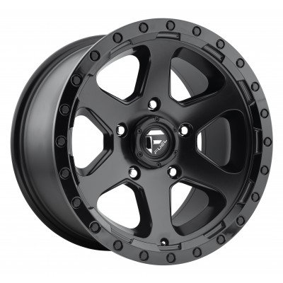 FUEL Ripper - AUS D589 Matte Black wheel (17X9, 6x139.7, 93.1, 35 offset)