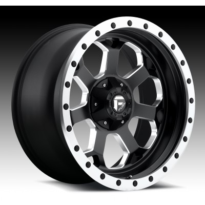 FUEL Savage D565 Machine Black wheel (17X8.5, 5x114.3/127, 78.1, -5 offset)