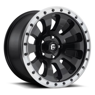 FUEL Tactic D629 Matte Black wheel (18X9, 5x127, 78.1, 1 offset)