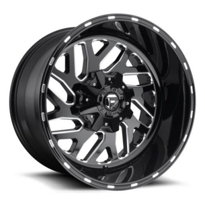 FUEL Triton D581 Gloss Black Machine wheel (18X7, 4x156, 132, 13 offset)