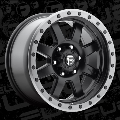FUEL Trophy D551 18 Matte Black wheel (18X9, 8x180, 124.2, 20 offset)