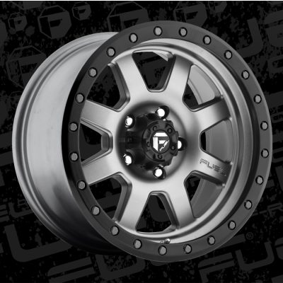 FUEL Trophy D552 17 Matte Gun Metal wheel (17X8.5, 6x135, 87.1, 6 offset)