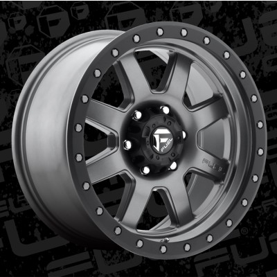 FUEL Trophy D552 18 Matte Gun Metal wheel (18X9, 8x180, 124.2, 20 offset)