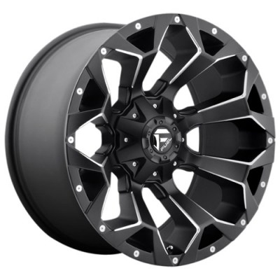 FUEL Trophy D552 20 Matte Gun Metal wheel (20X9, 8x165.1, 125.2, 1 offset)