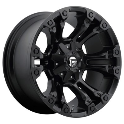 FUEL Vapor AUS D560 Matte Black wheel (20X9, 6x139.7, 108, 35 offset)