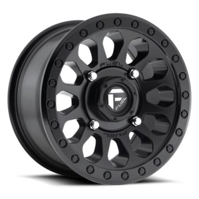 FUEL Vector D579 Matte Black wheel (16X8, 6x114.3, 66.3, 15 offset)