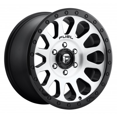 FUEL Vector D580 Machine Black wheel (16X8, 5x114.3, 72.6, 1 offset)