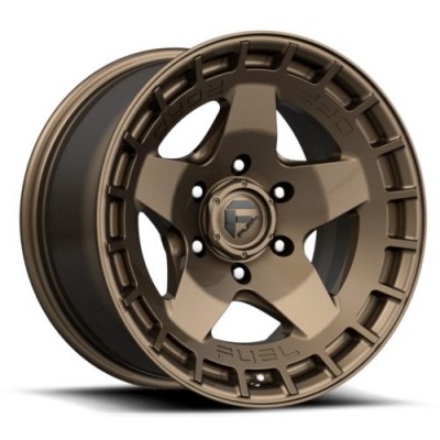 FUEL WARP Matte Bronze wheel (17.00X9.00, 6x139.70, 106.1, 1 offset)
