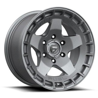 FUEL WARP Matte Gun Metal wheel (17.00X9.00, 6x139.70, 106.1, 1 offset)