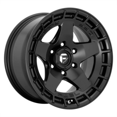 FUEL WARP Satin Black wheel (17.00X9.00, 6x139.70, 106.1, -12 offset)
