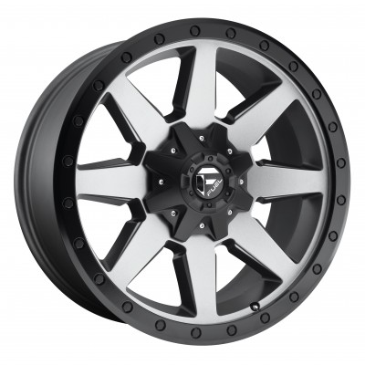 FUEL Wildcat D599 Matte Gun Metal wheel (17X9, 5x114.3/127, 78.1, -12 offset)