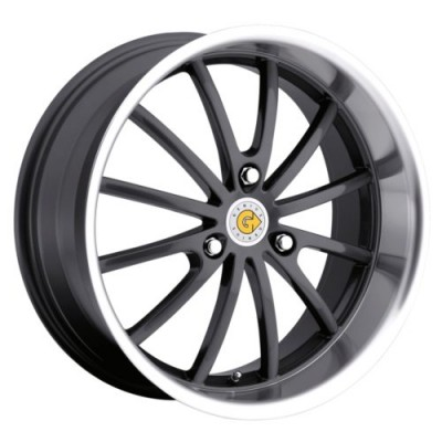 Genius Wheels DARWIN Gun Metal wheel (15X5.5, 3x112, 57.1, 25 offset)