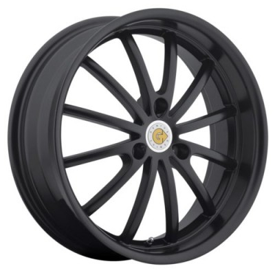 Genius Wheels DARWIN Matte Black wheel (15X6.5, 3x112, 57.1, 22 offset)