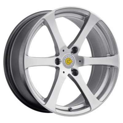 Genius Wheels NEWTON Hyper Silver wheel (15X5.5, 3x112, 57.1, 25 offset)