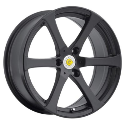 Genius Wheels NEWTON Matte Black wheel (15X5.5, 3x112, 57.1, 25 offset)