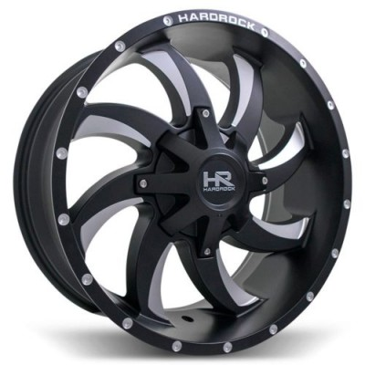 Hardrock Devious Machine Black wheel (20X10.0, 6x135/139.7, 108, -19 offset)