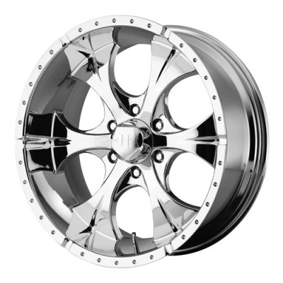 Helo Wheels Maxx Chrome wheel (17X8, 5x127, 78.3, -6 offset)