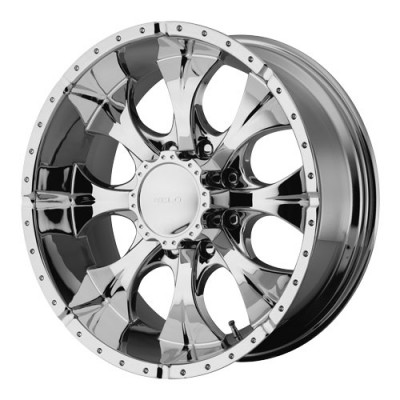 Helo Wheels Maxx Chrome wheel (16X8, 5x114.3, 72.6, 0 offset)