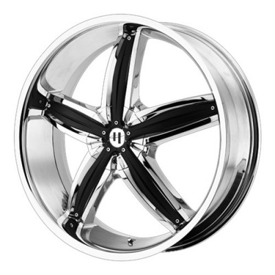 Helo Wheels HE844 Chrome wheel (18X8, 5x112/120, 74.1, 40 offset)