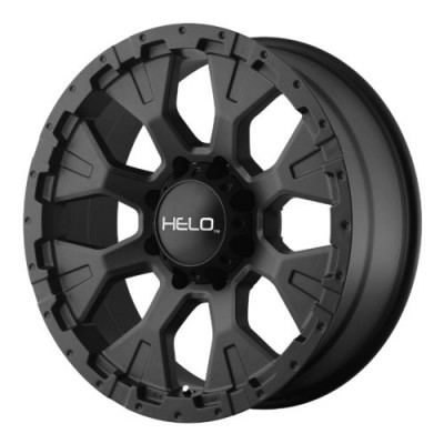 Helo HE878 Satin Black wheel (16X9, 5x114.3, 72.60, -12 offset)